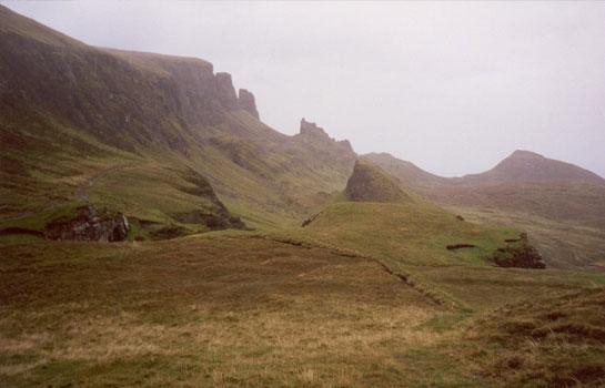 Berge auf Skye