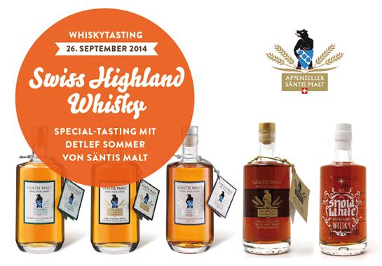 säntis-whisky-Tasting-offenbach-frankfurt